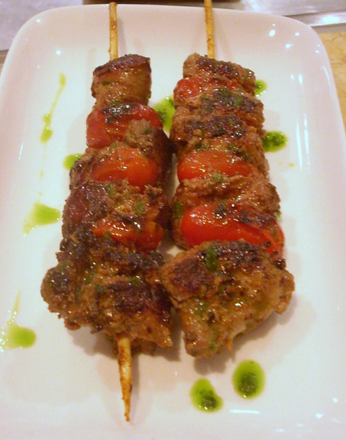tapeo hong kong lamb skewers
