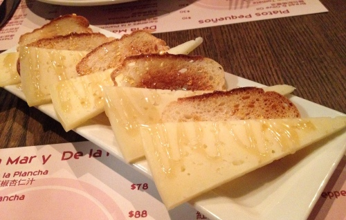 tapeo hong kong manchego cheese and honey