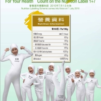 HK gets nutritional: 1 + 7 = catsuit?