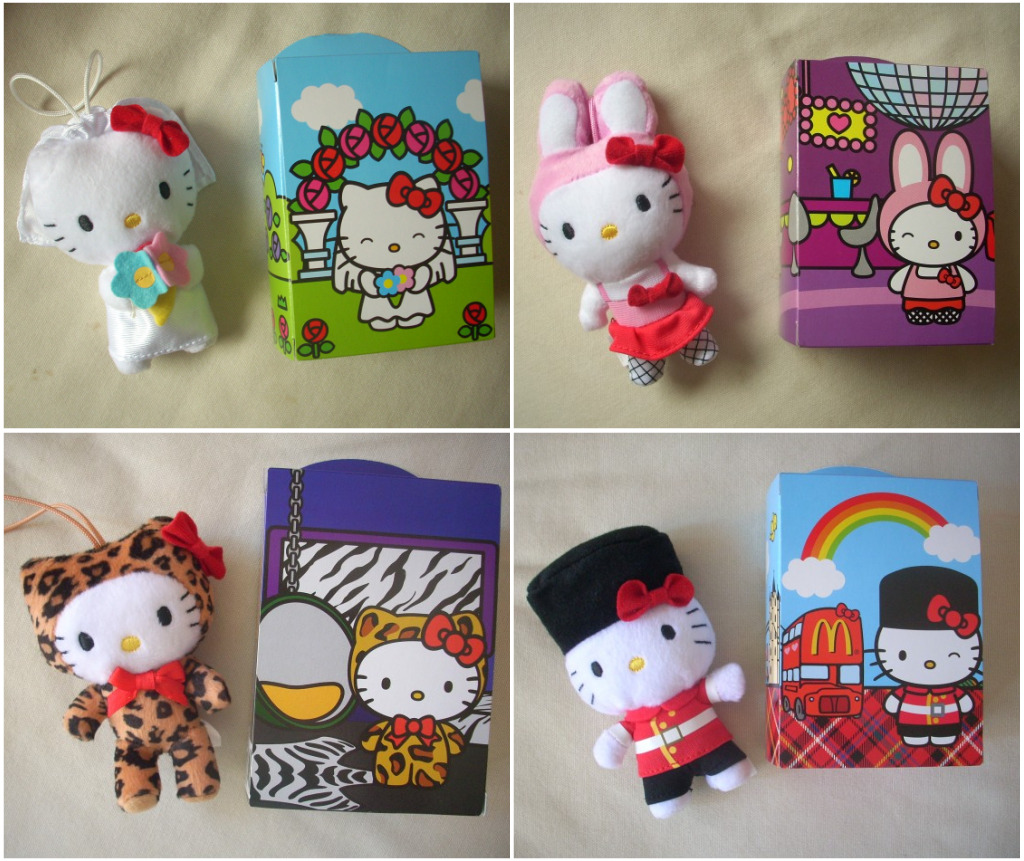 Hello Kitty Mcdonald S Toys : Mcdonalds hello kitty cosplay toys here