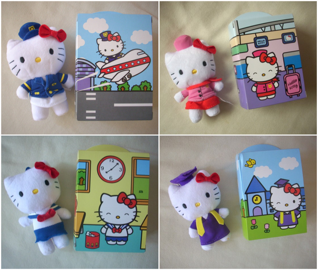Hello Kitty Mcdonald S Toys : Happy meal toys through the looking glass