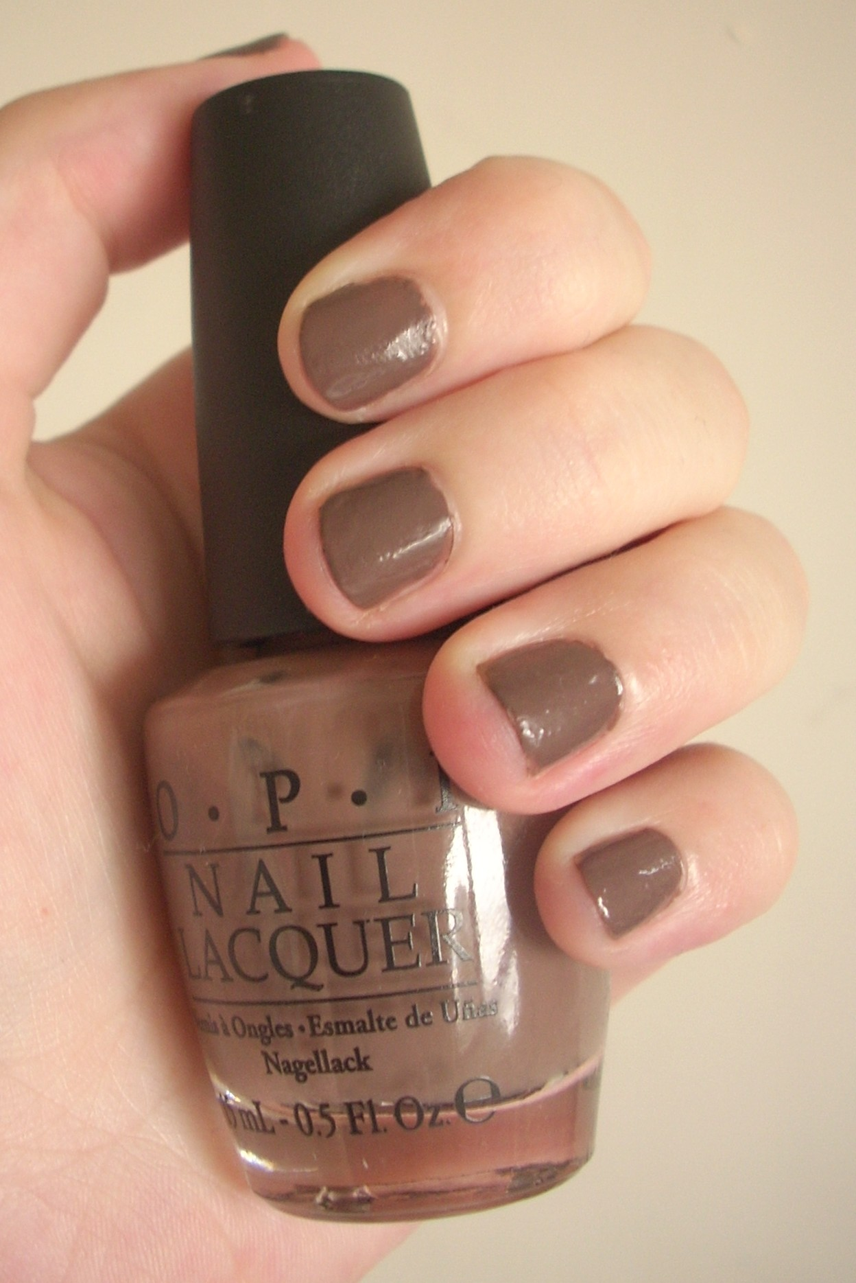 Going Over The Taupe at Cher2: OPI nail polish review | Through The ...