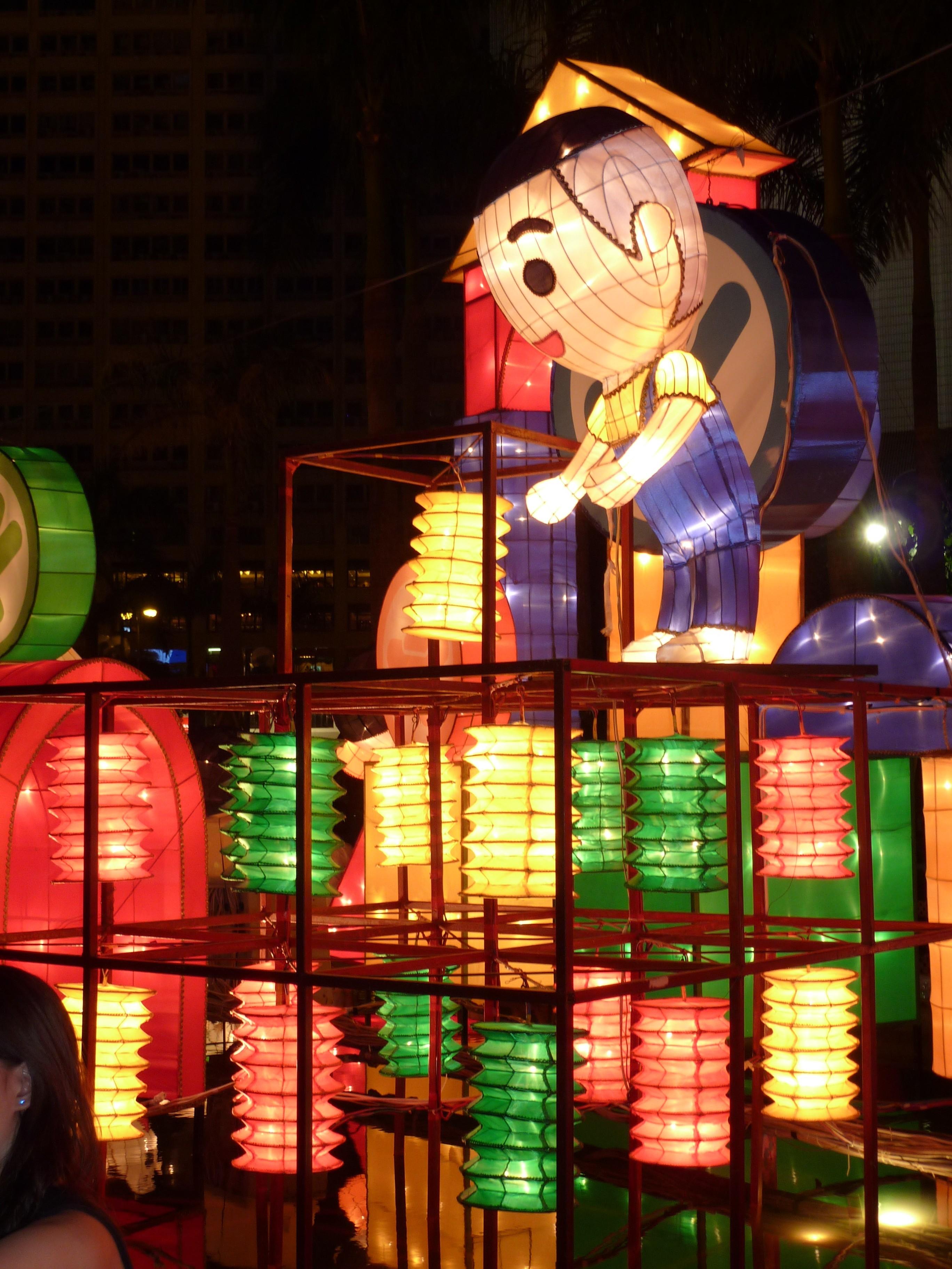 lanterns through the looking glass