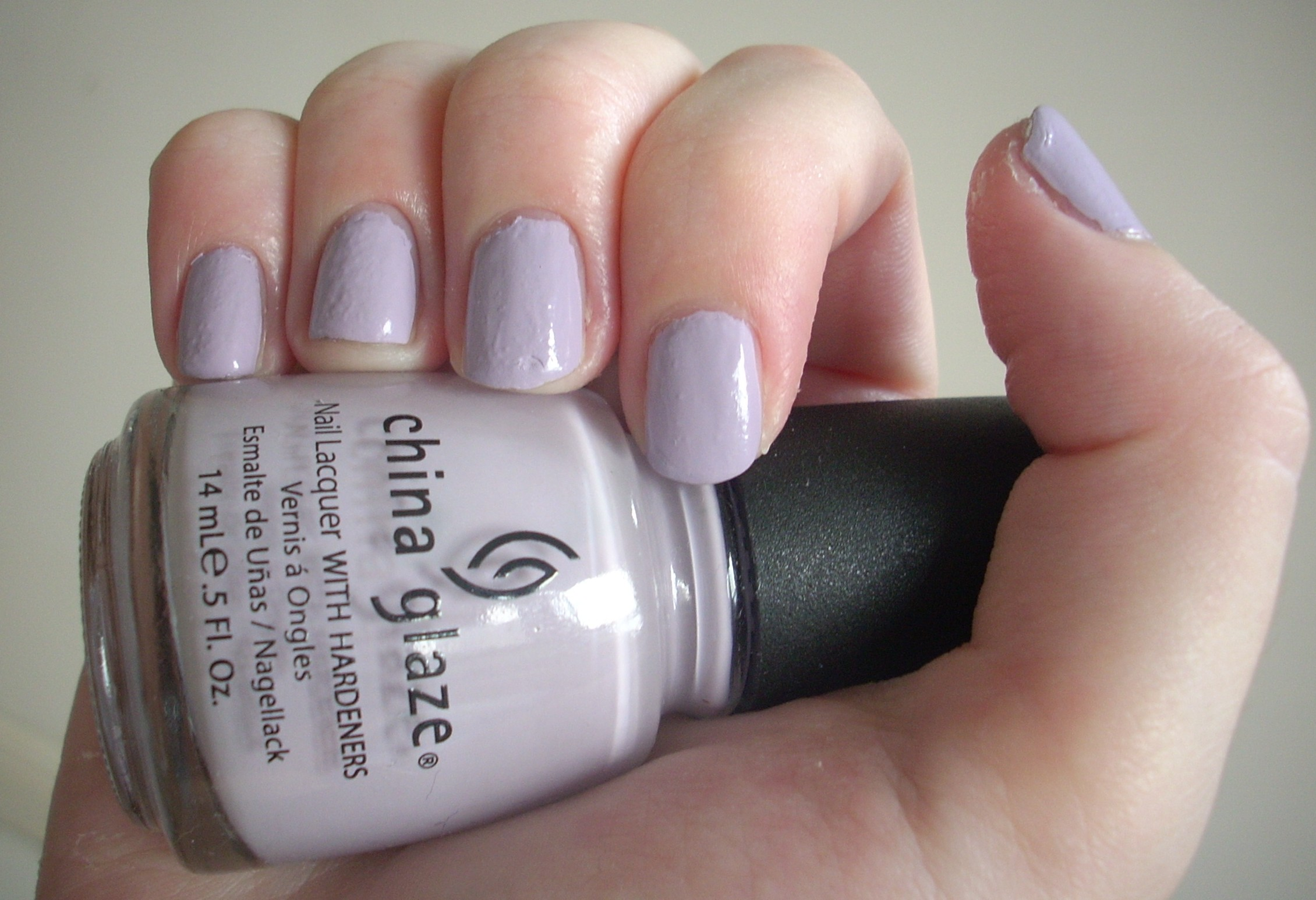 China Glaze Light As Air nail polish review | Through The Looking Glass
