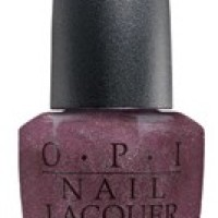OPI Suede Lincoln Park After Dark nail polish review