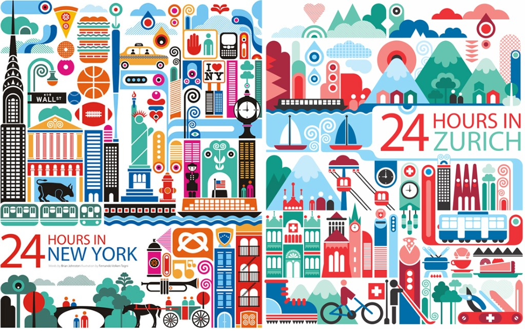 Around the world in 10 travel posters through the for 24 hr nail salon nyc