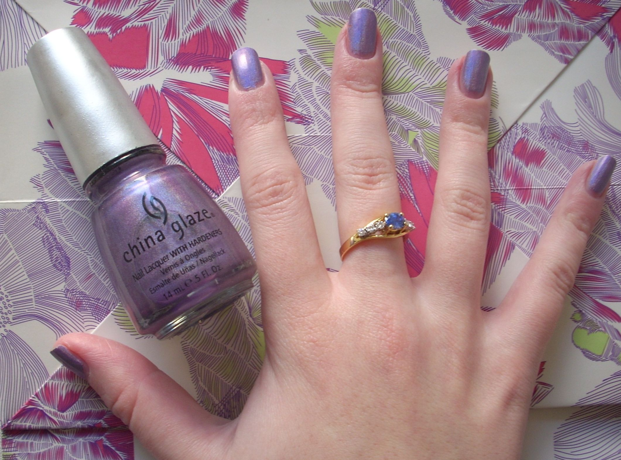 China Glaze IDK nail polish review | Through The Looking Glass