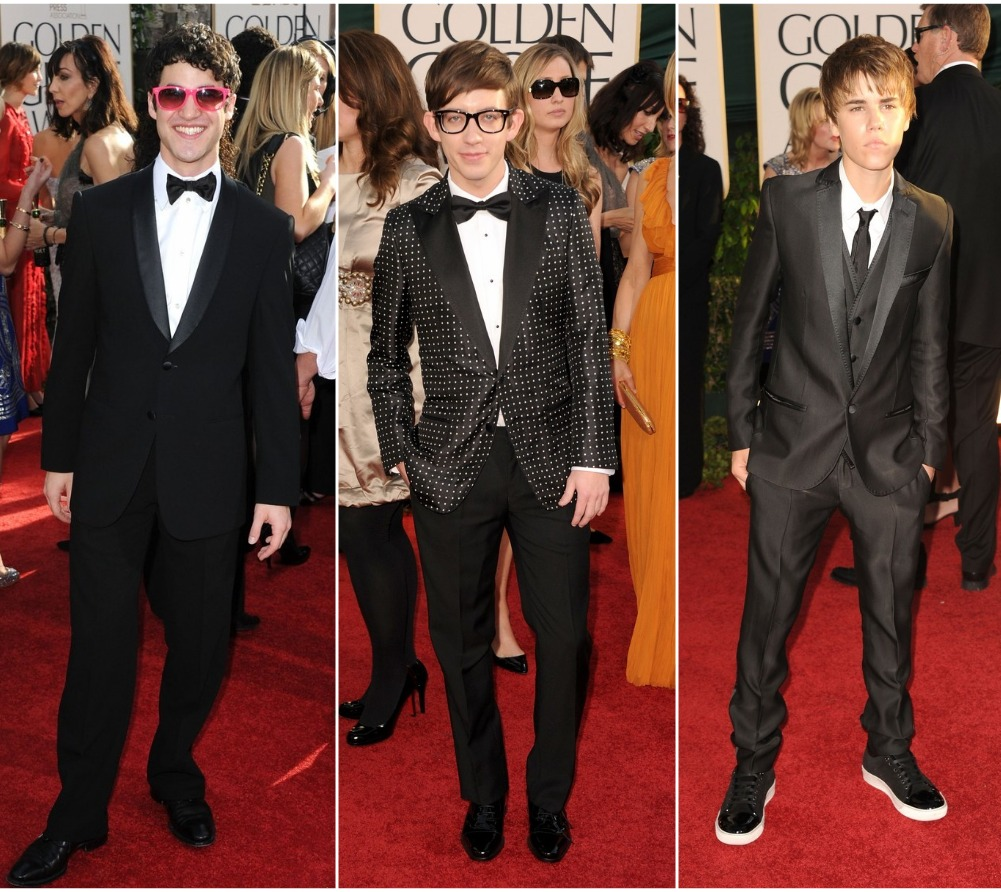 Justin Bieber Red Carpet Golden Globes 2011. Red Carpet Rundown: Golden