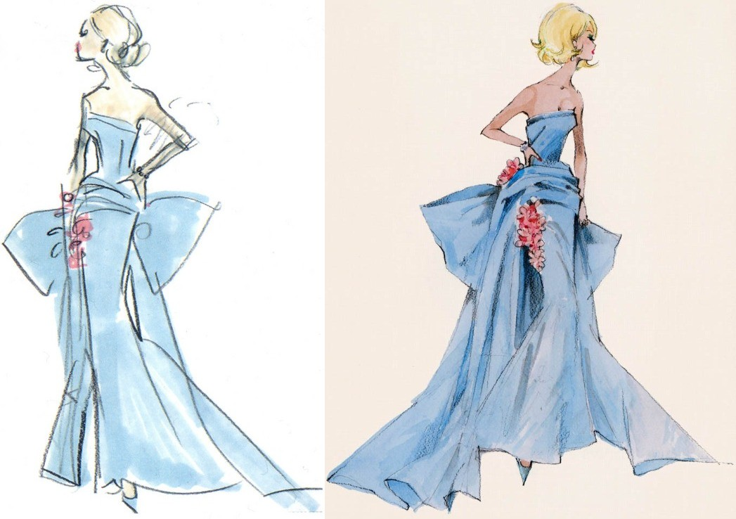 Fashion Dress Drawing Tumblr