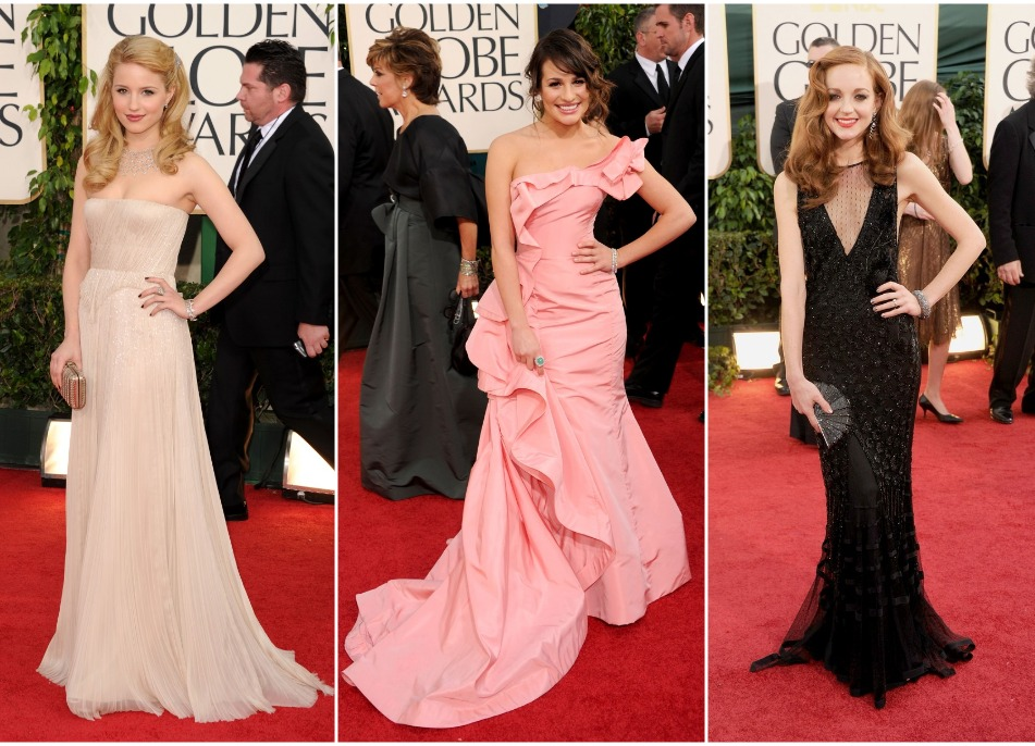 I didn't actually watch the 2011 Golden Globes ceremony, but I wonder if