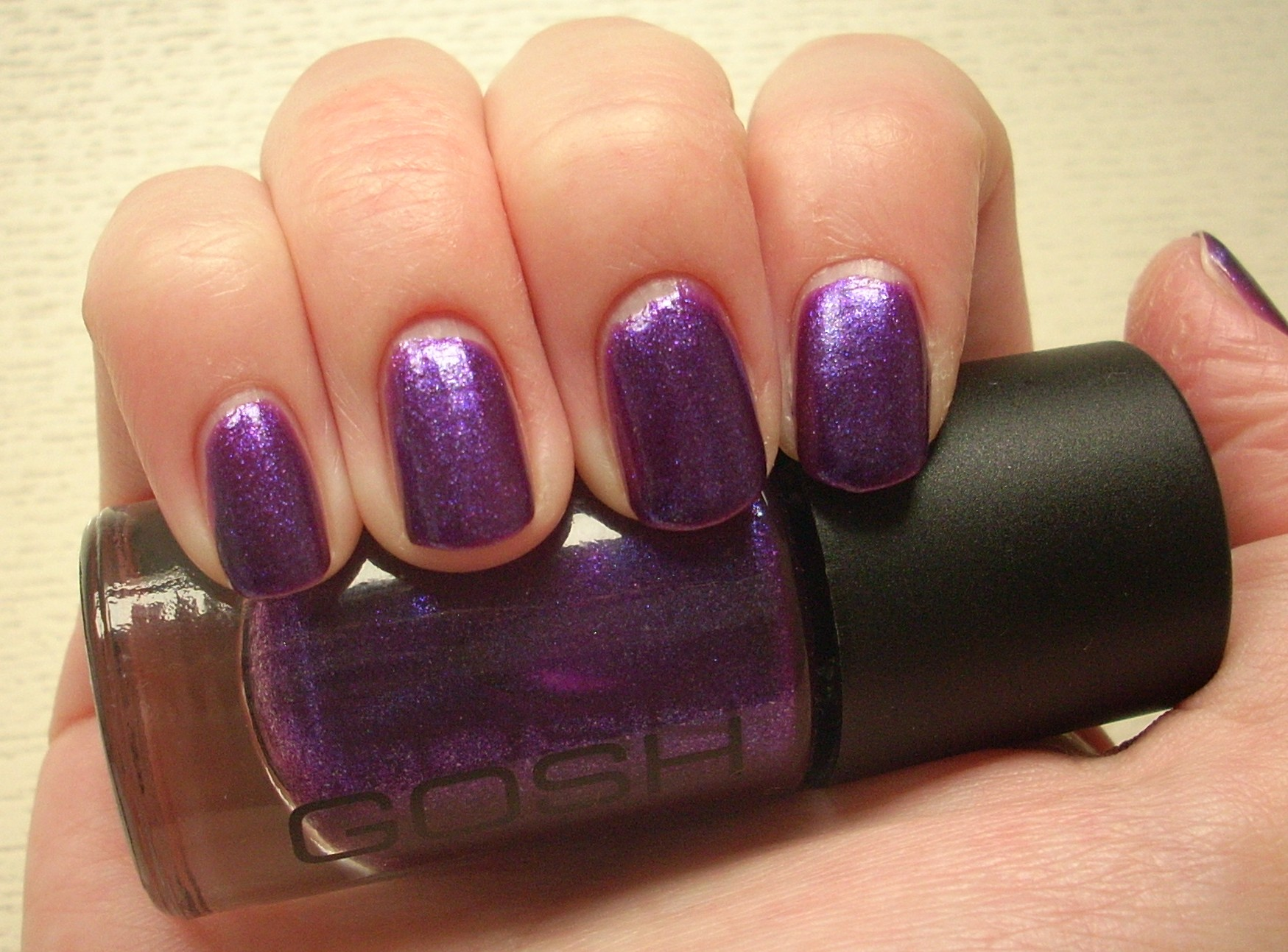 Gosh Gasoline nail polish review | Through The Looking Glass