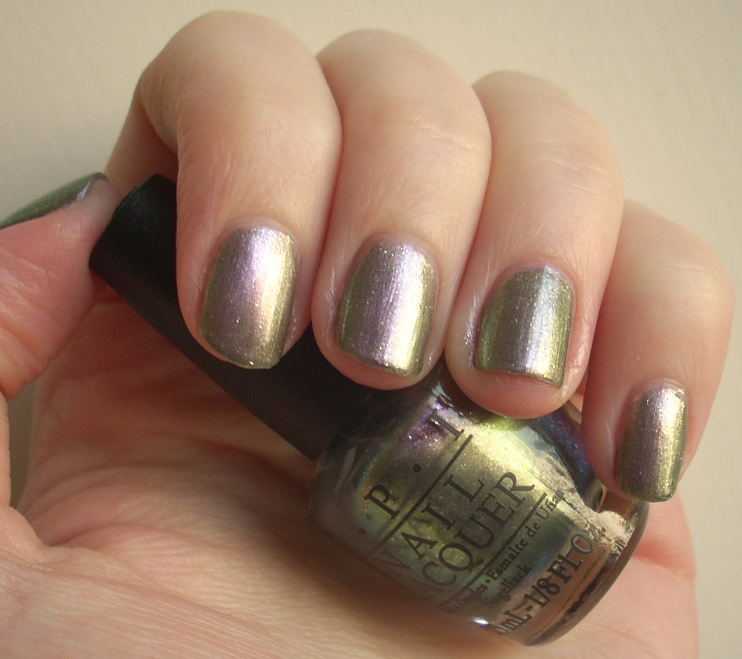 OPI Not Like The Movies nail polish review | Through The Looking Glass