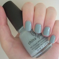 China Glaze Sea Spray nail polish review