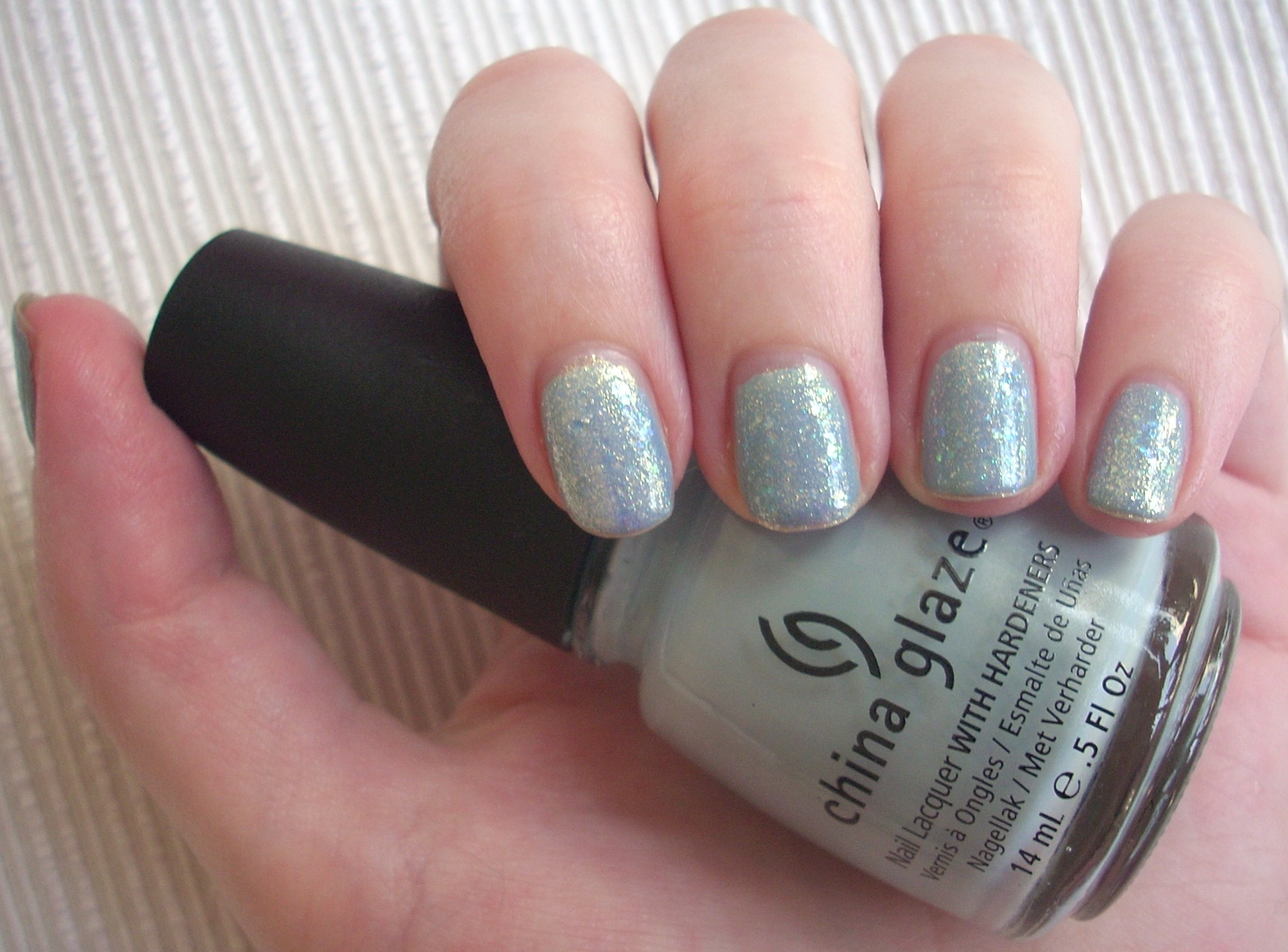 China Glaze Sea Spray nail polish review | Through The Looking Glass