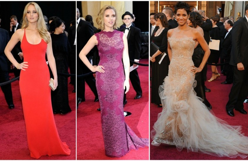 halle berry oscars 2011 red carpet. Red Carpet Rundown: Oscars
