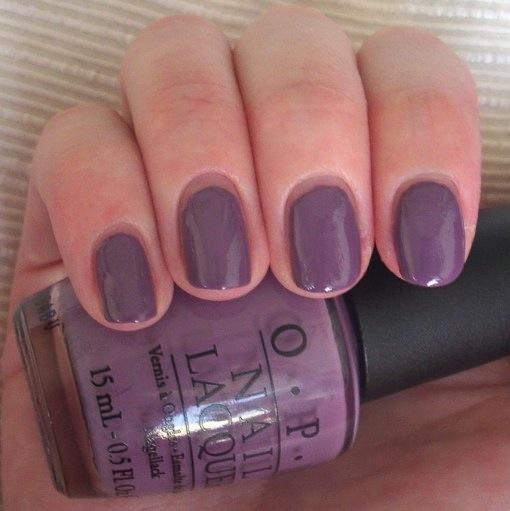 Purple Taupe Nail Polish: OPI Parlez-Vous OPI Nail Polish Review