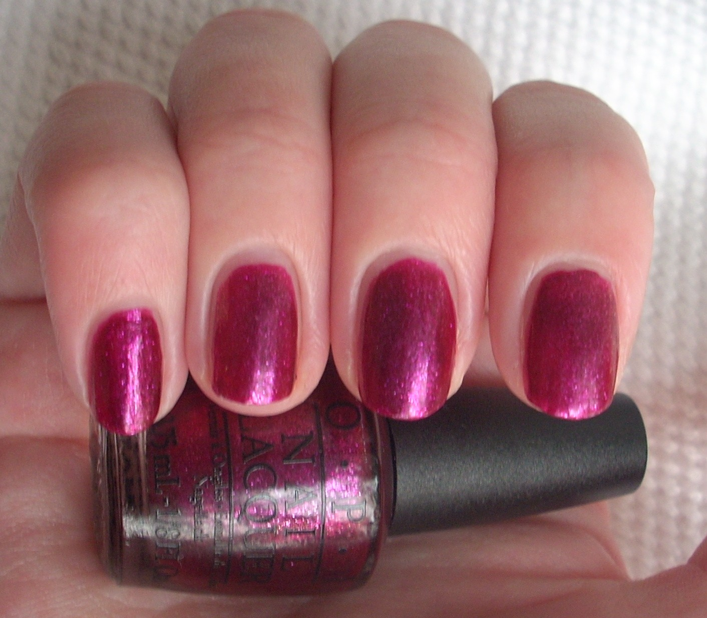 OPI The One That Got Away nail polish review | Through The Looking Glass
