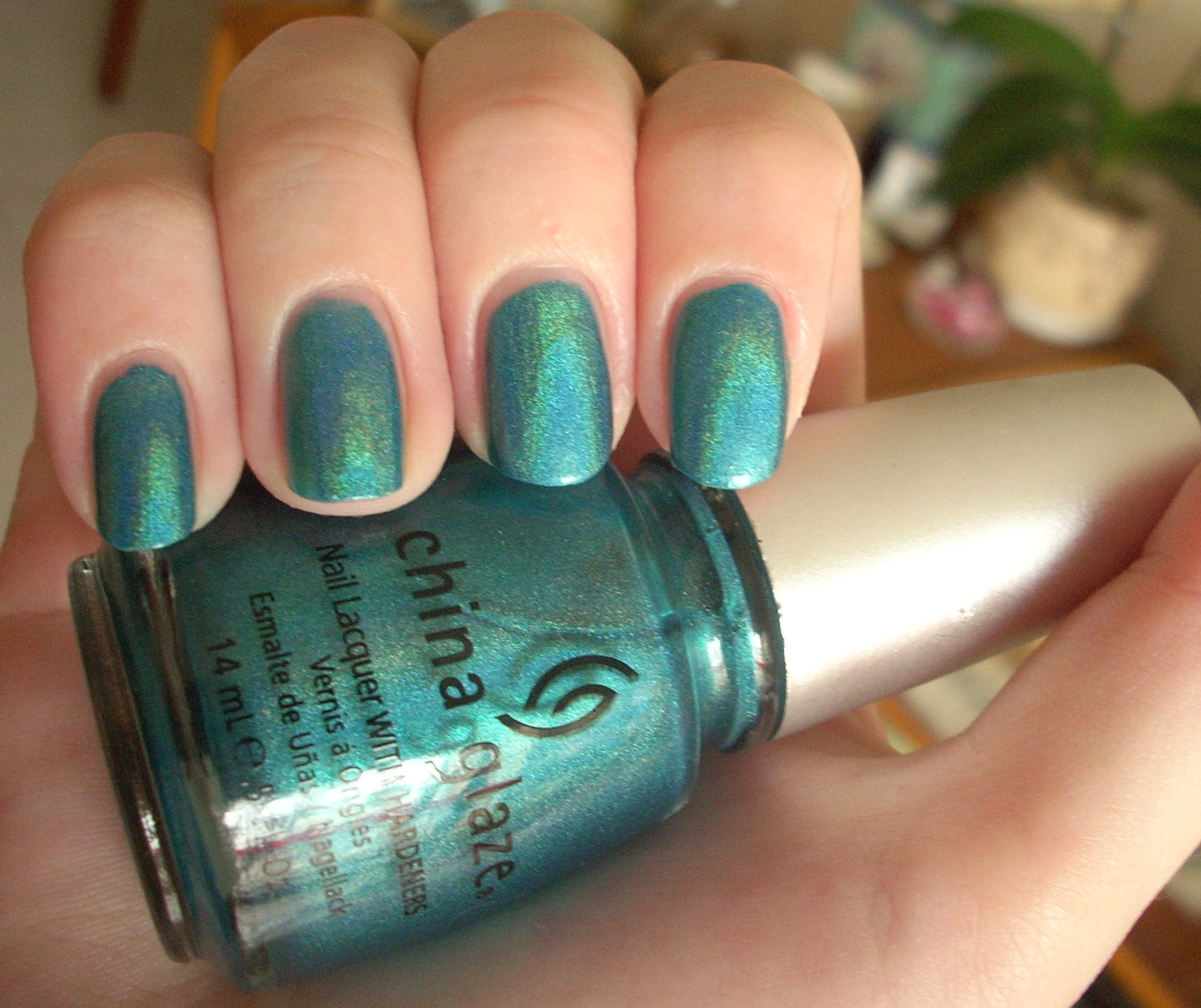 China glaze dv8 nail polish review through the looking glass holo nvjuhfo Gallery