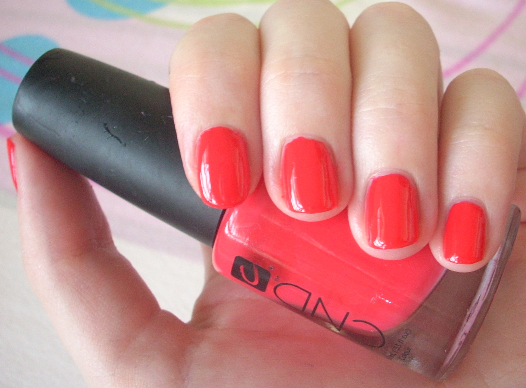 best coral nail polish | Through The Looking Glass