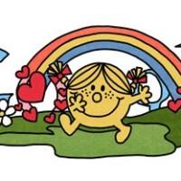 Little Miss Google Doodle