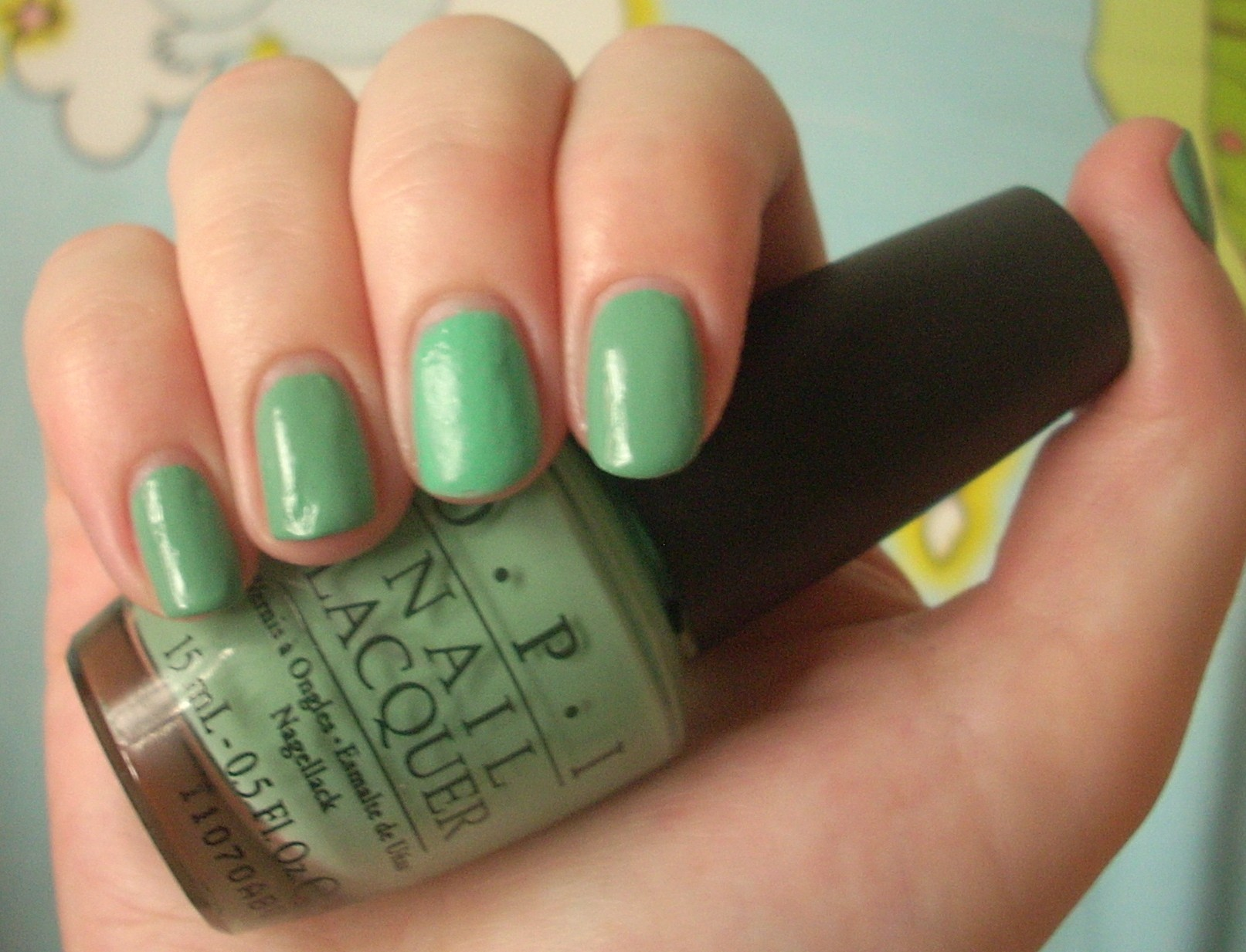 OPI Mermaid\'s Tears nail polish review | Through The Looking Glass
