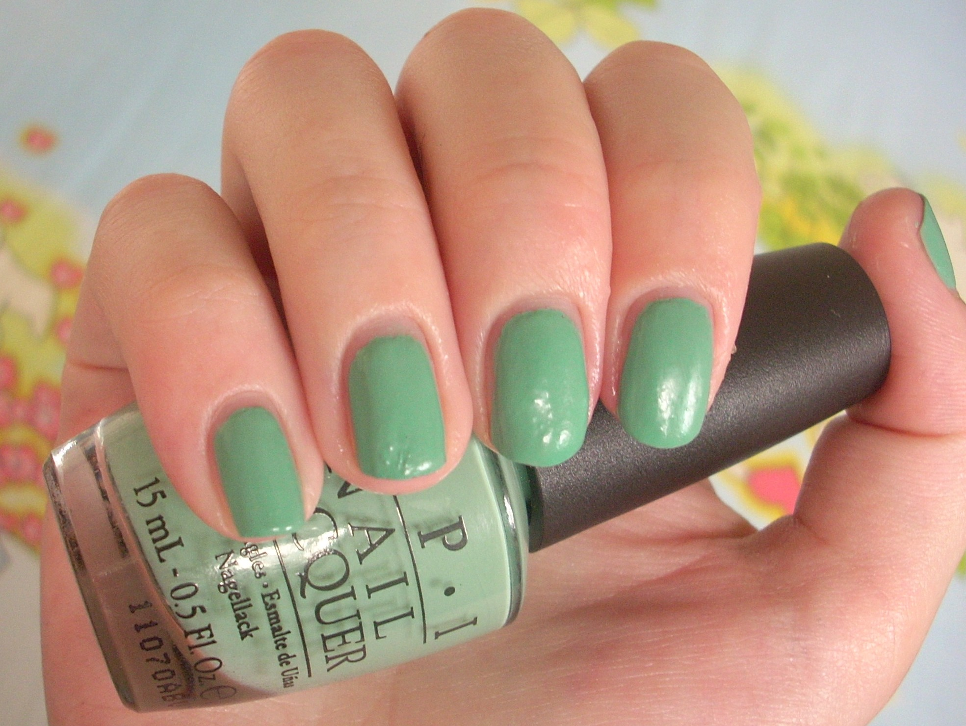 OPI Mermaids Tears Nail Polish Review