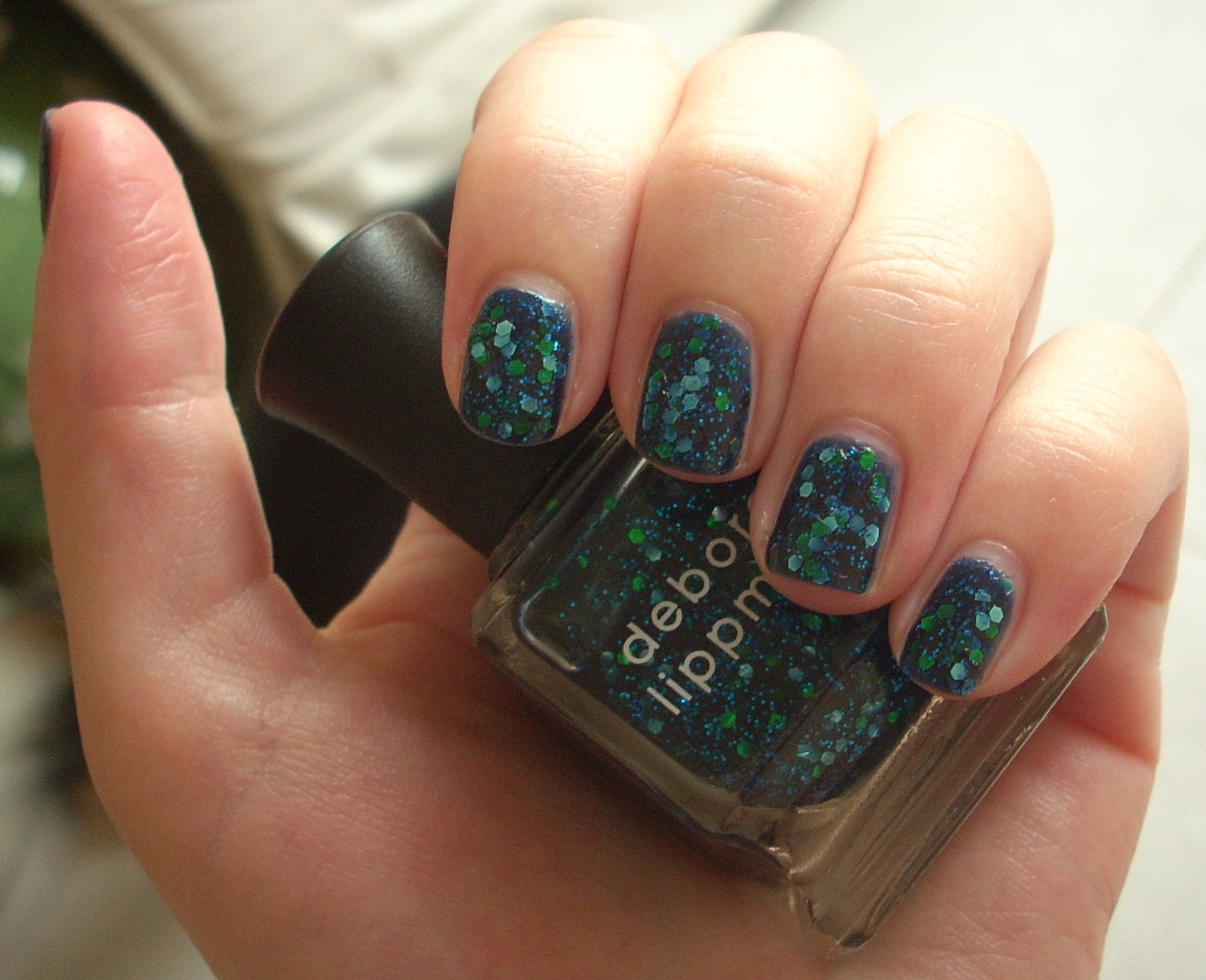 Deborah Lippmann Across The Universe nail polish review | Through ...