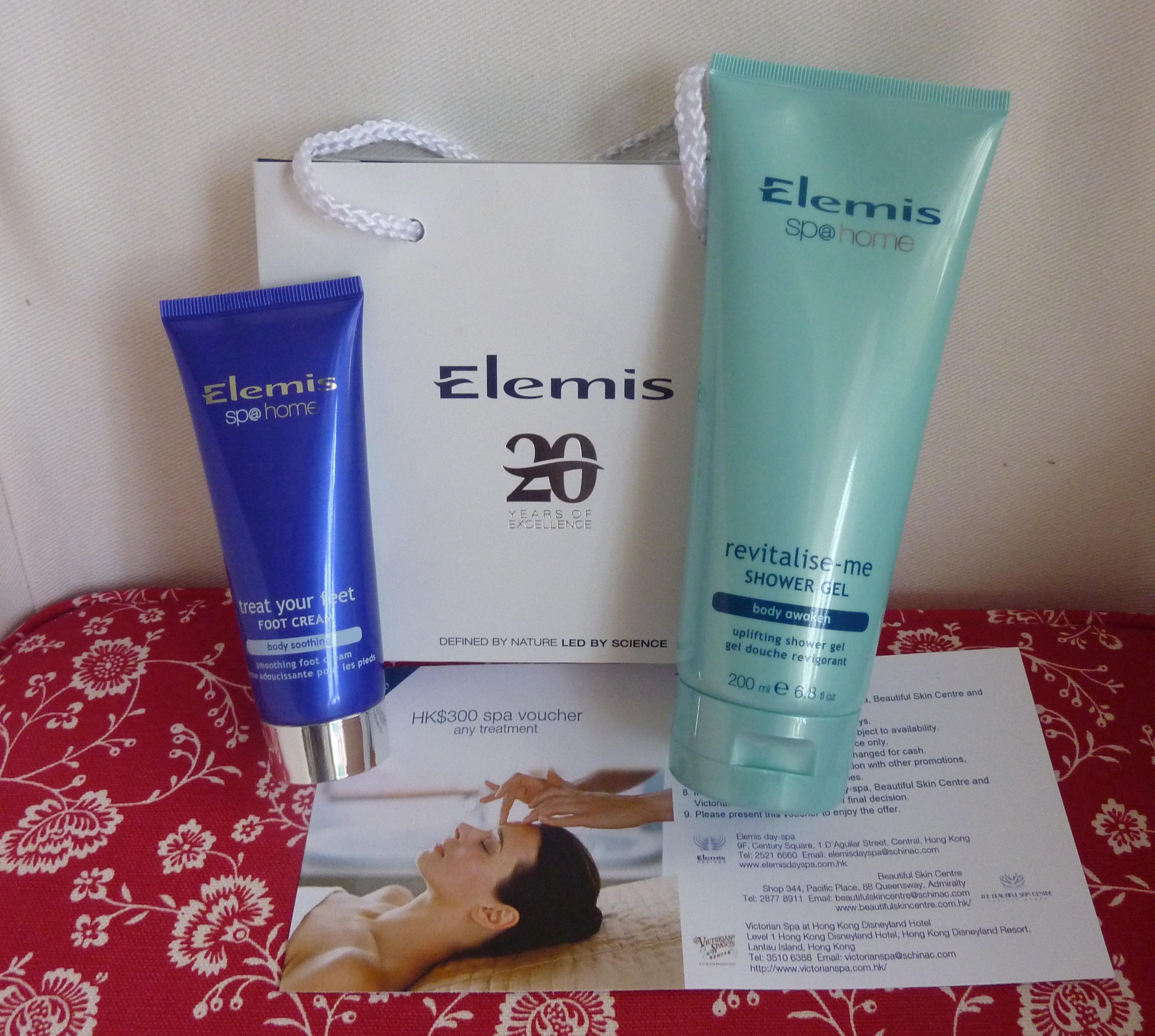 Elemis spa through the looking glass - Elemis shower gel ...