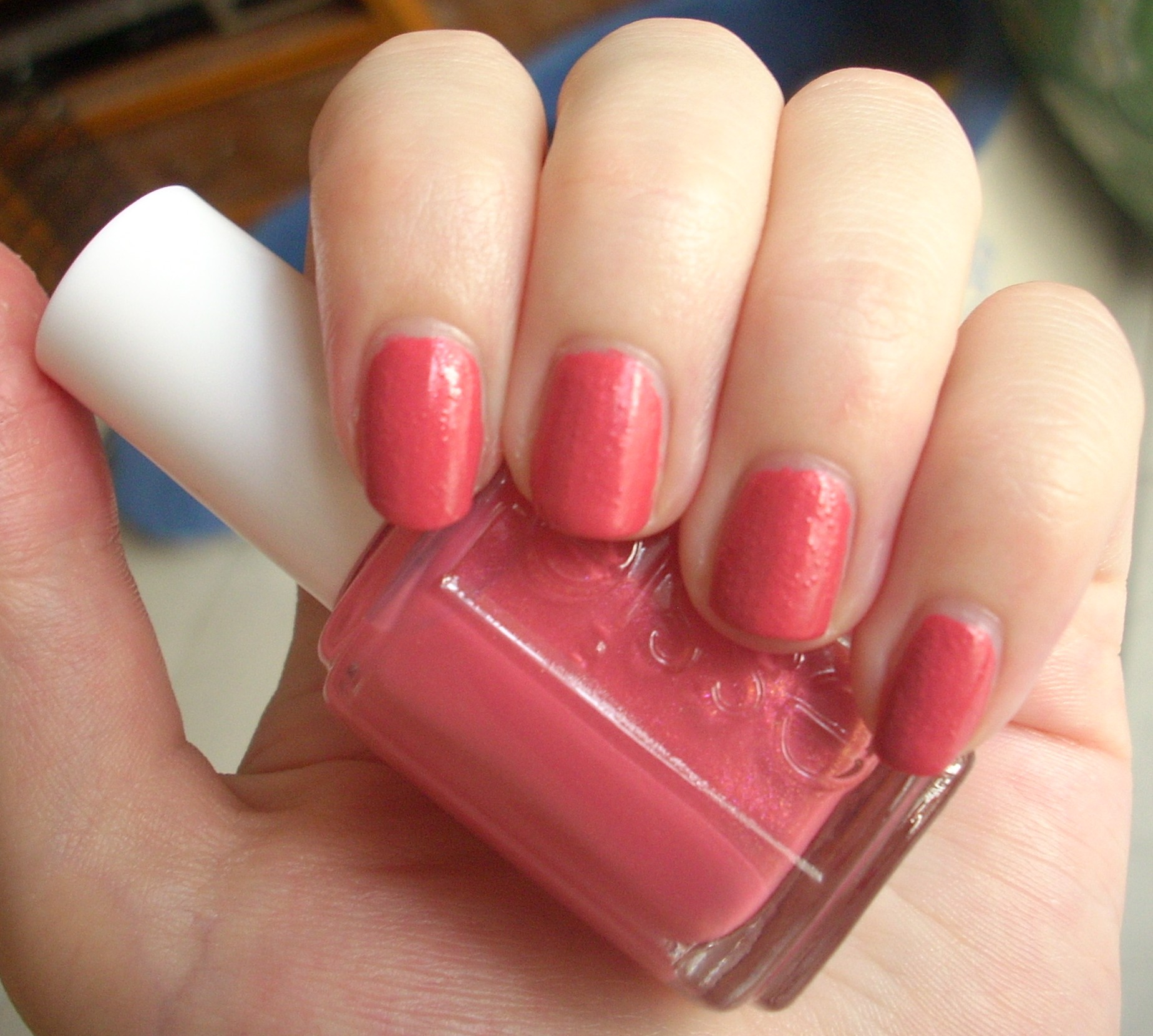 Essie Your Hut Or Mine nail polish review | Through The Looking Glass