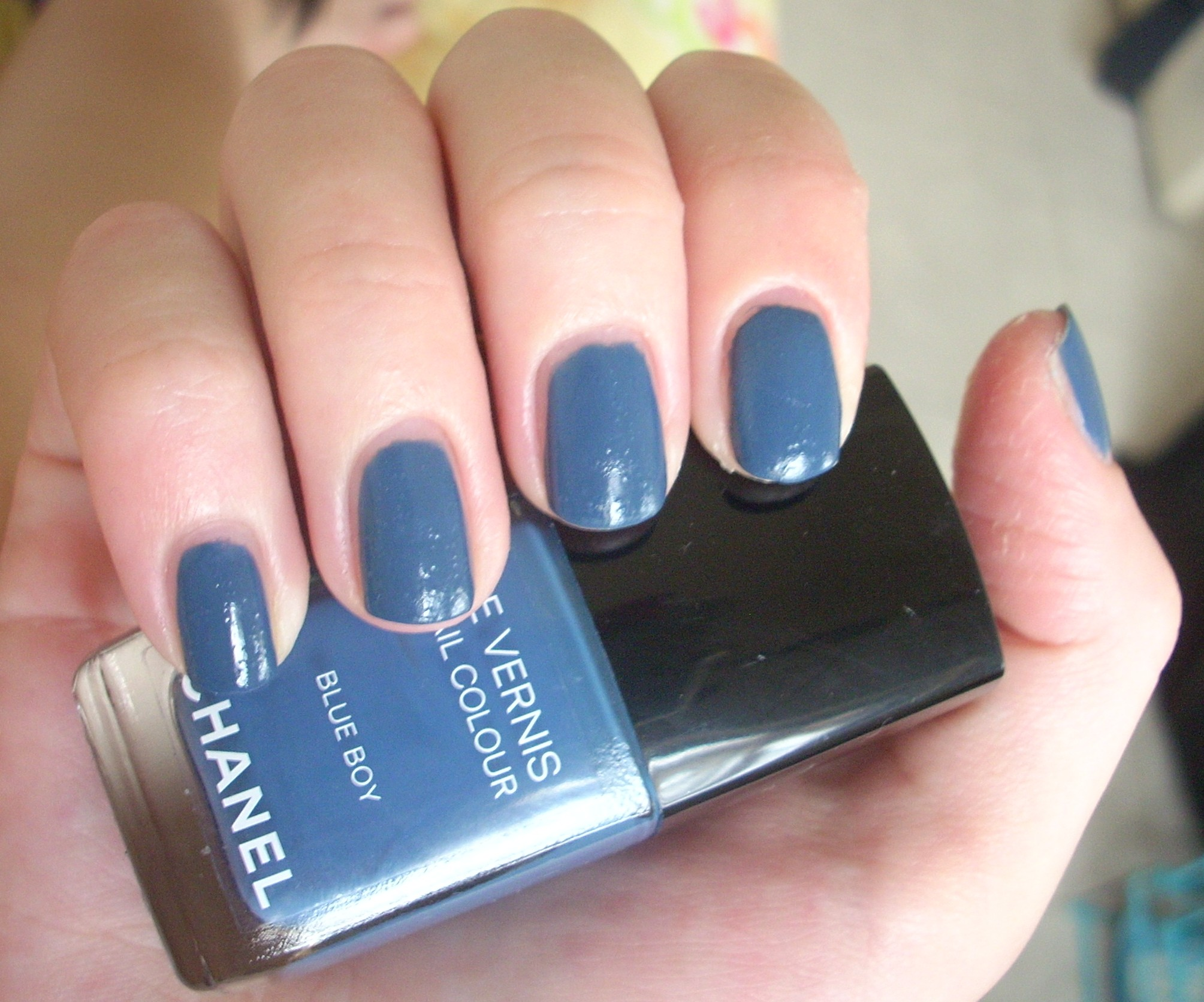 Chanel Blue Boy nail polish review | Through The Looking Glass