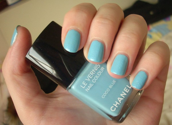 Chanel Coco Blue nail polish review