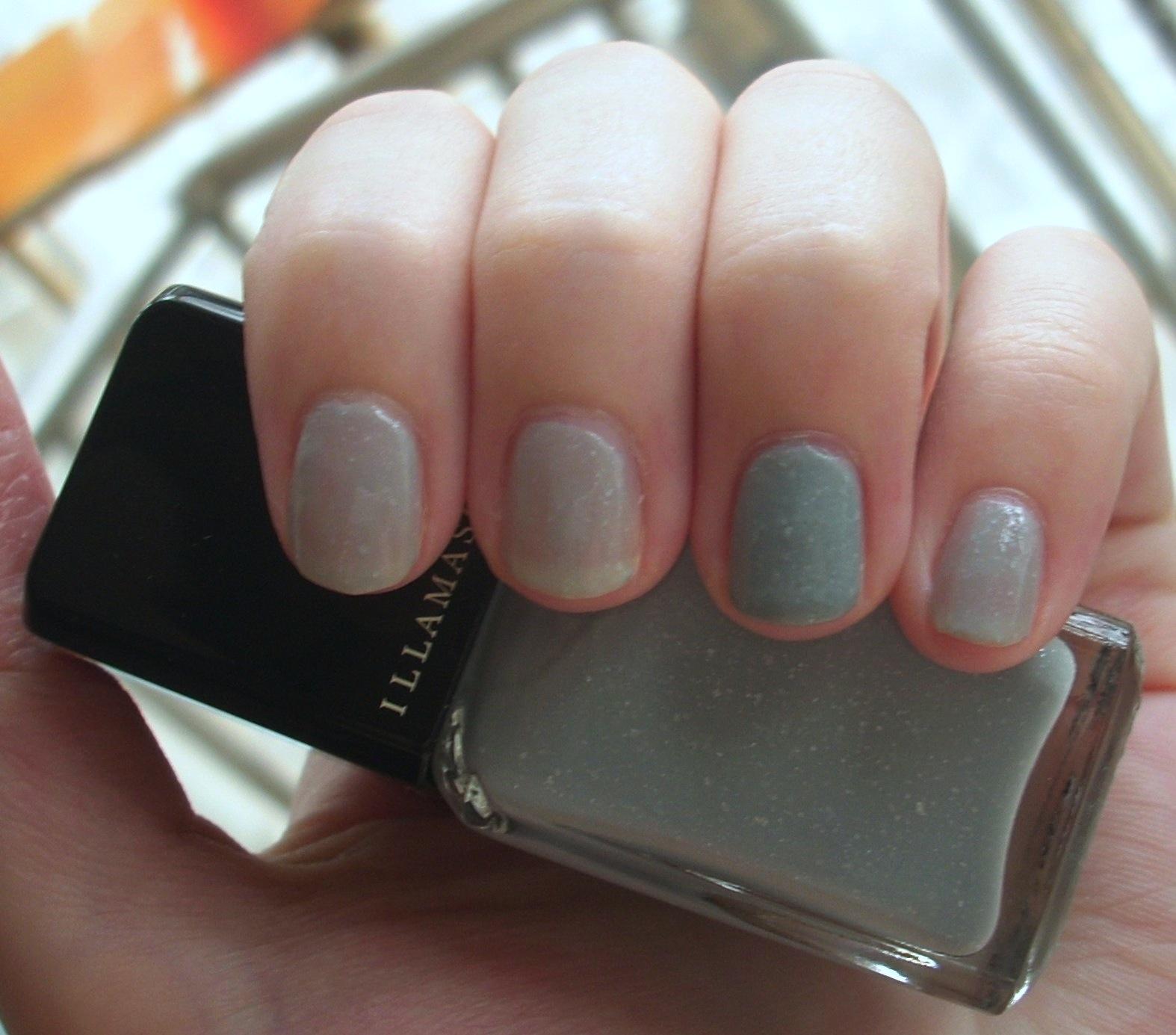 Nail Polish On Pinky Finger Meaning: Illamasqua Raindrops Nail Polish Review
