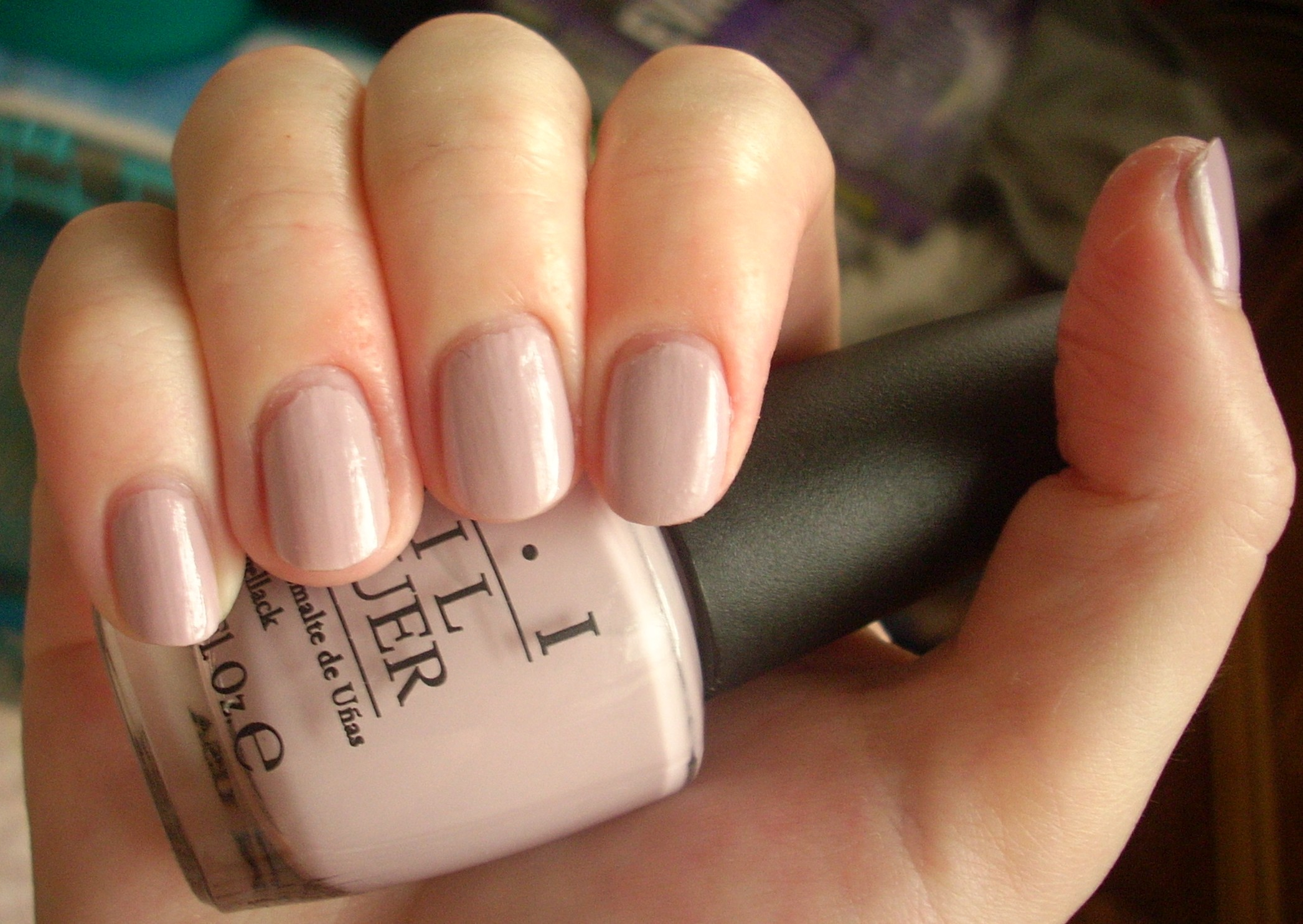 OPI Steady As She Rose nail polish review | Through The ...