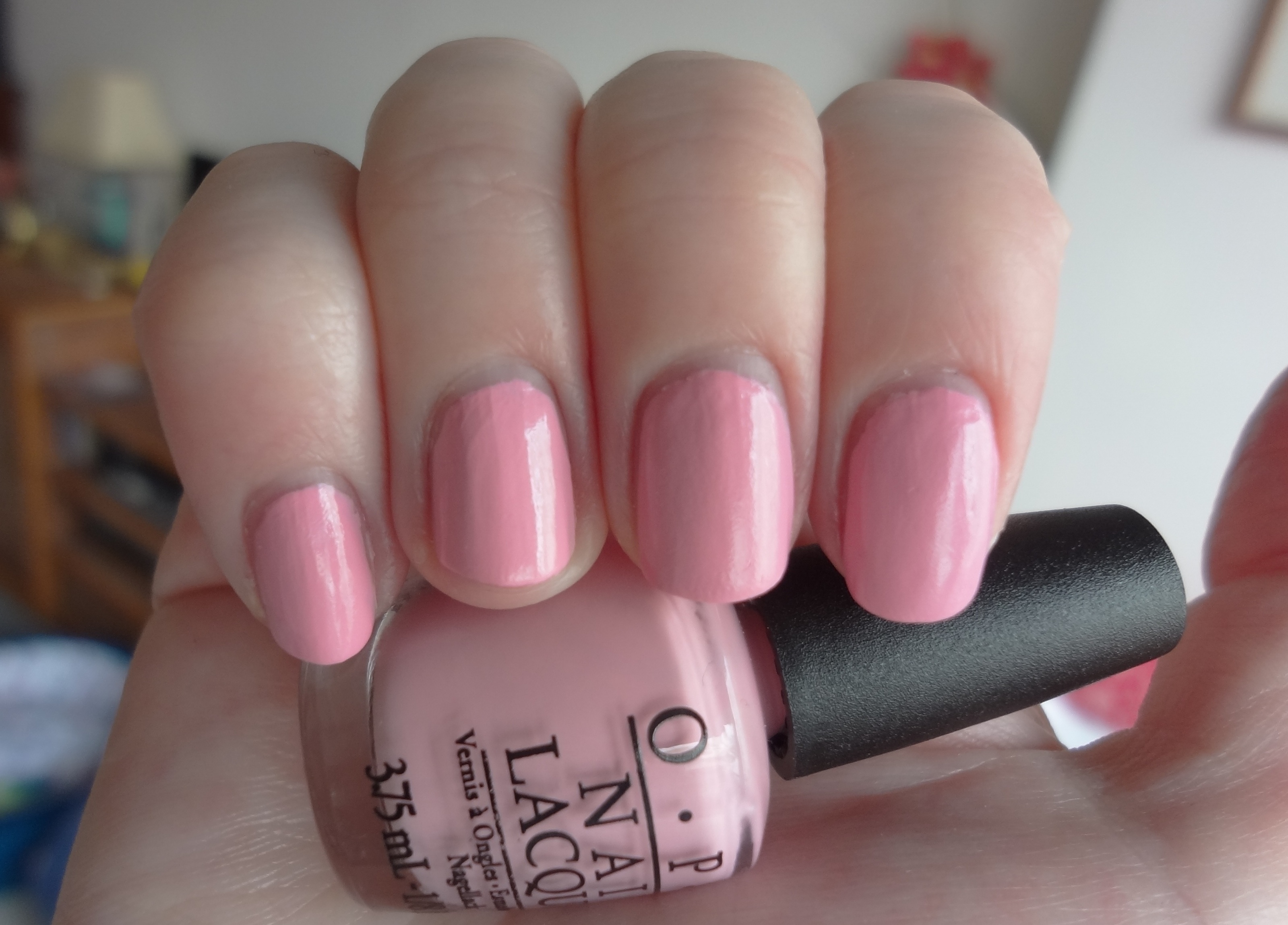 OPI Pink Friday nail polish review | Through The Looking Glass