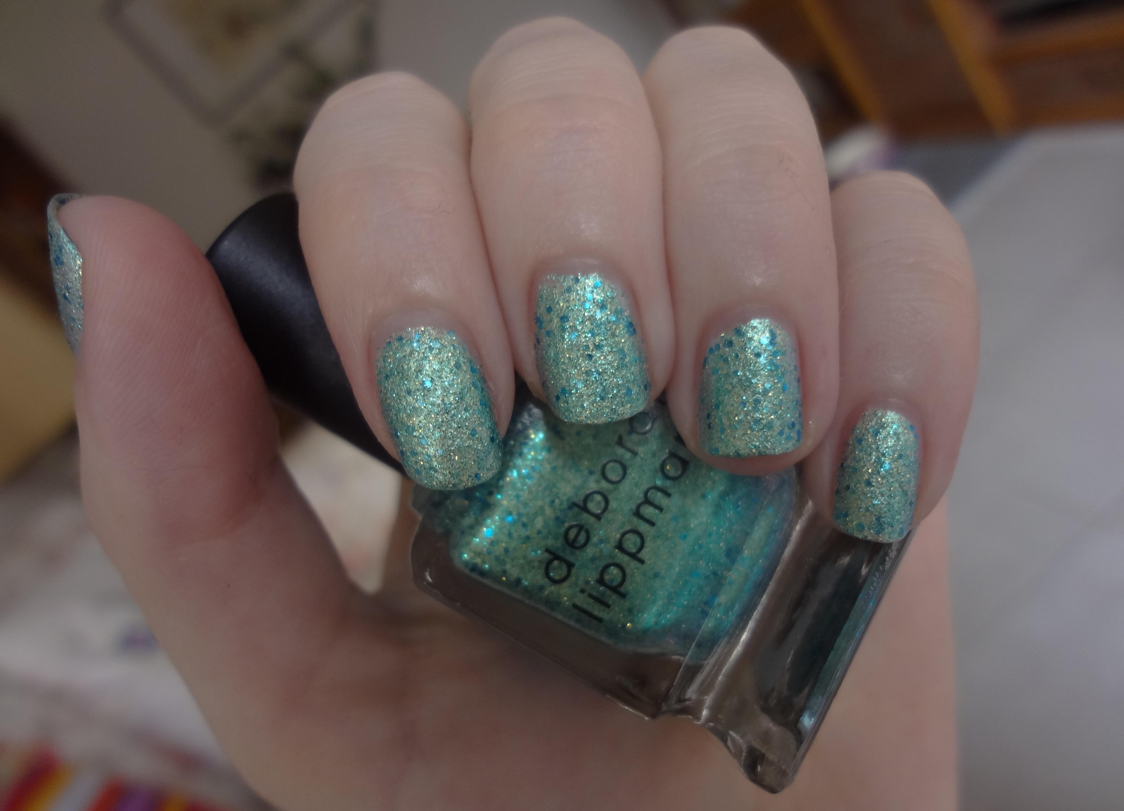 Deborah Lippmann Mermaid\'s Dream nail polish review | Through The ...