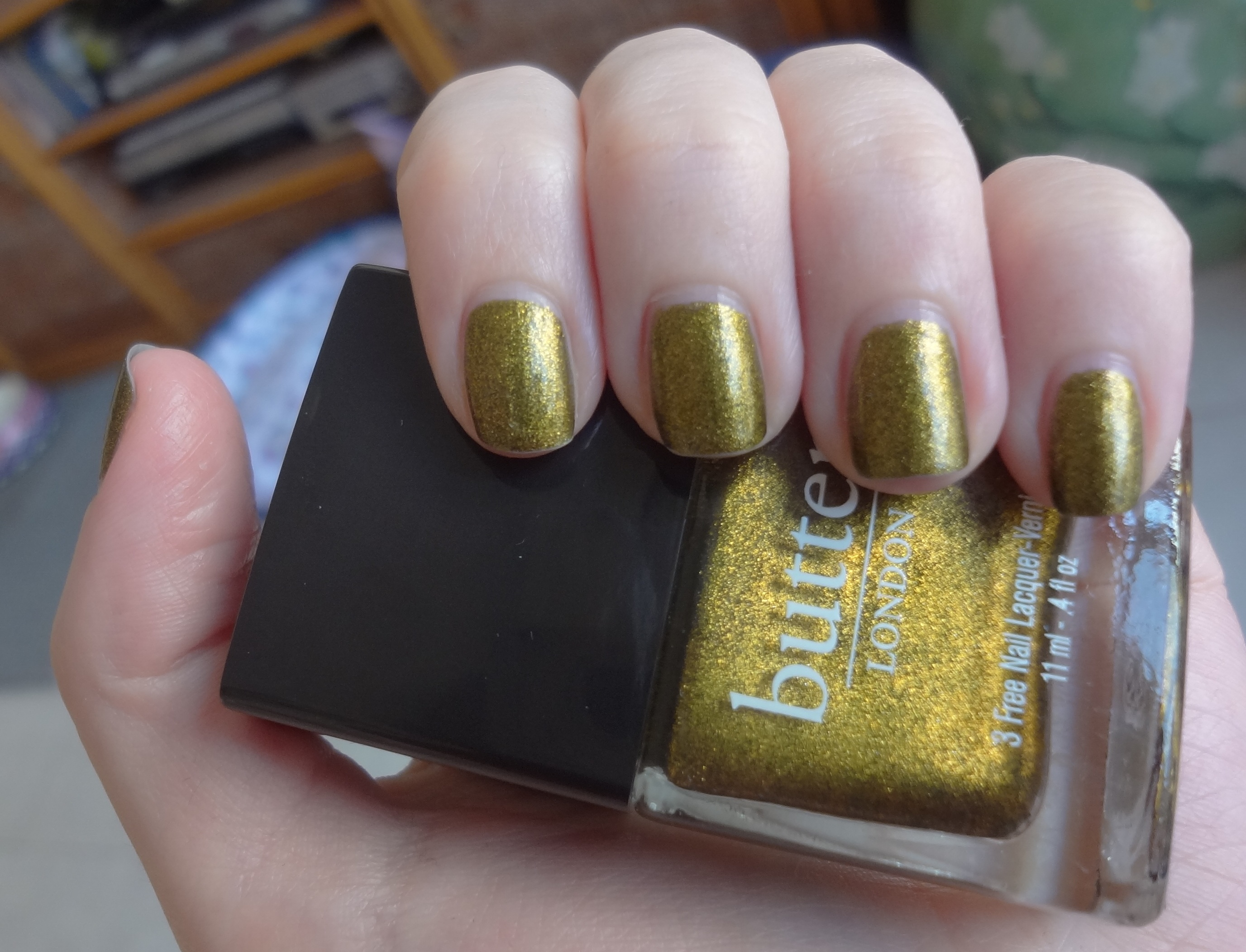 Butter London Wallis nail polish review