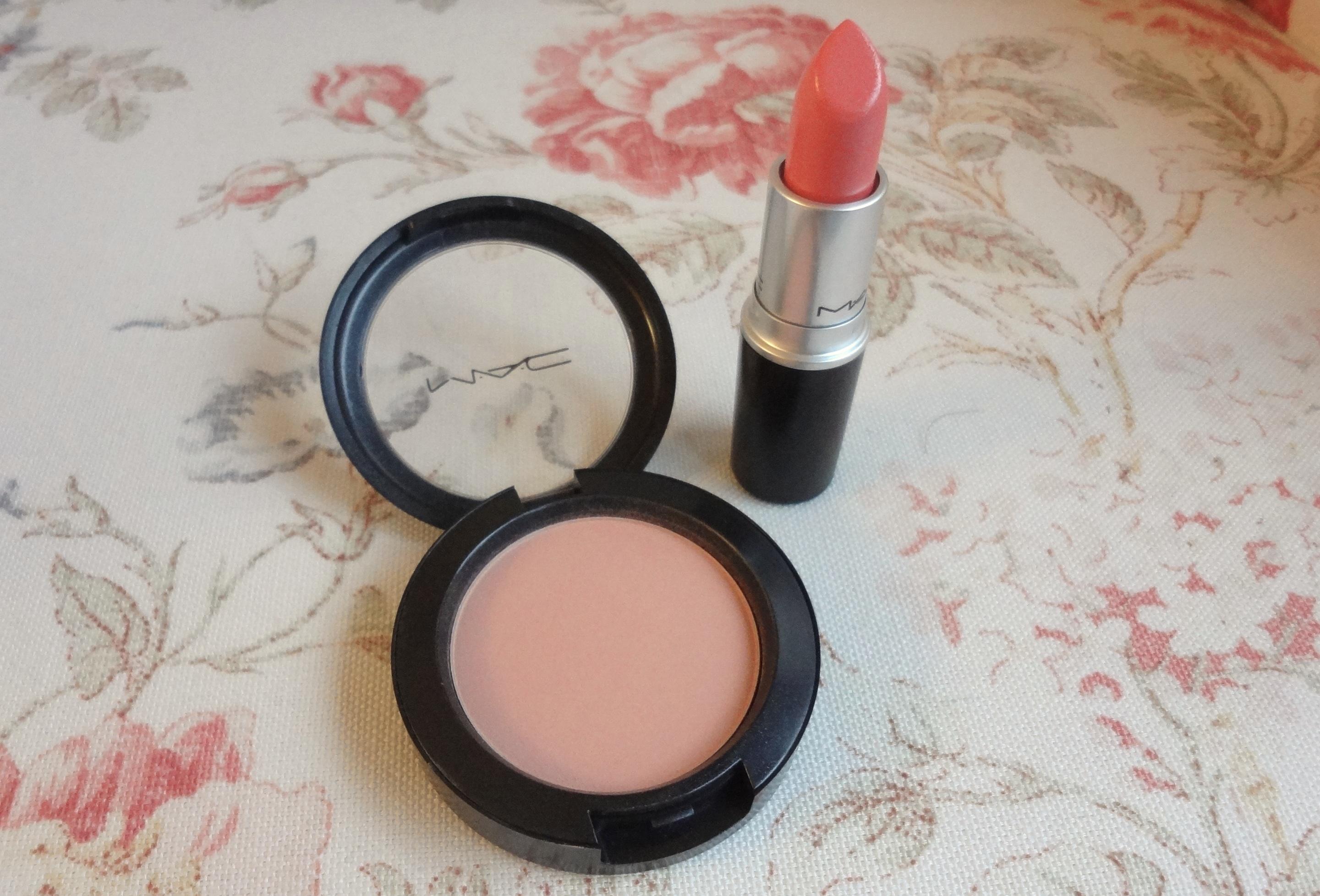 MAC Stay By Me Pro Longwear Blush & Coral Bliss Cremesheen ...
