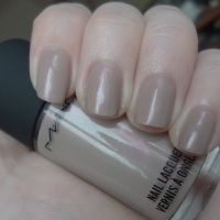 MAC Endless Night nail polish review