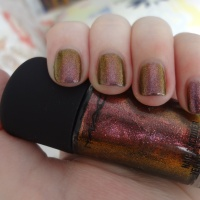 Mac Mean & Green nail polish review