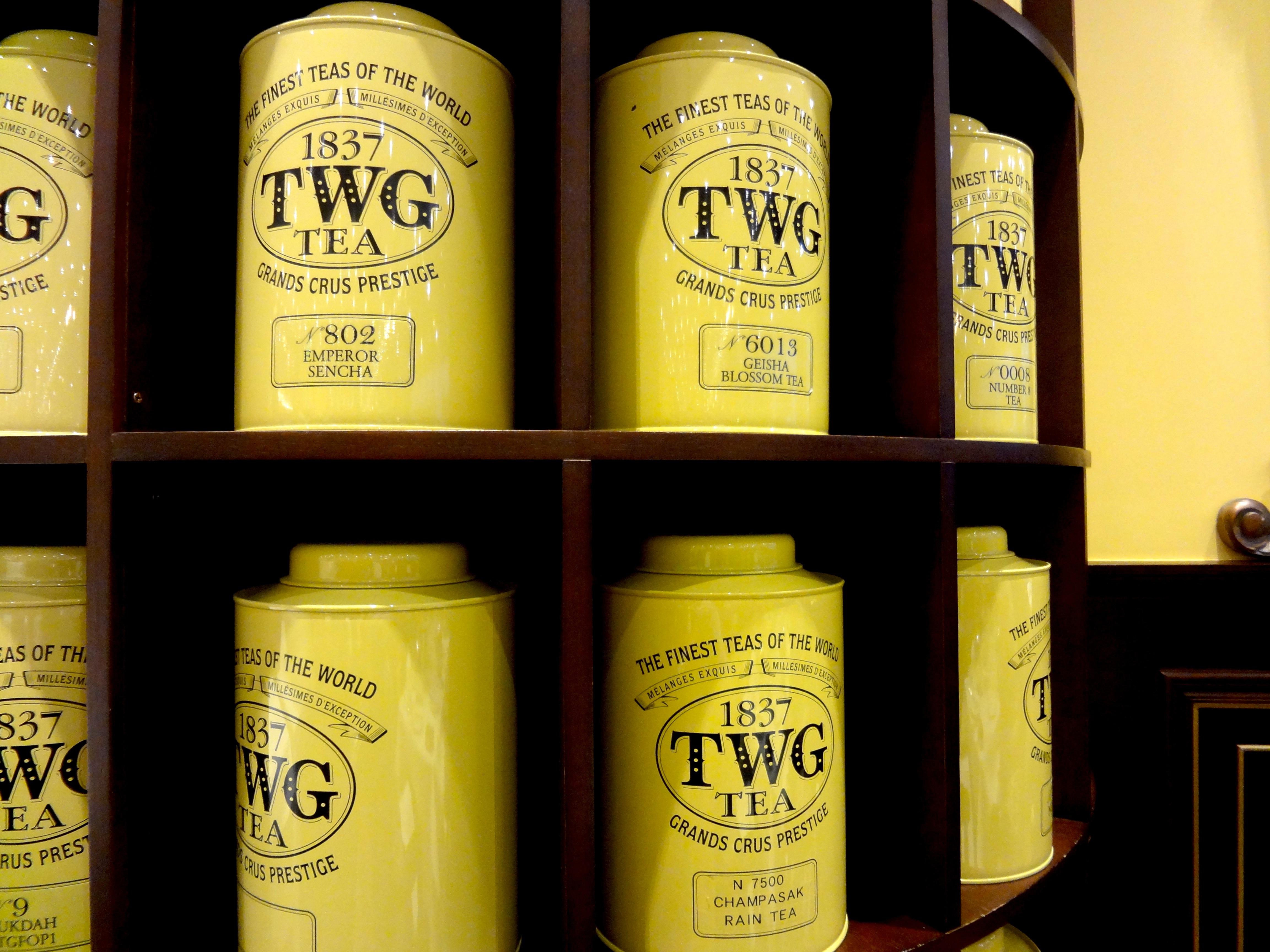 Twg Tea Salon Amp Boutique Review Bon Appe Tea Through