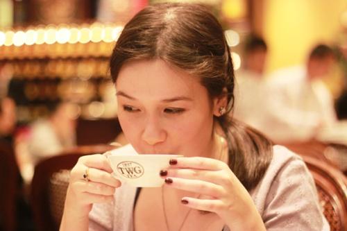 TWGs tea tasting 1