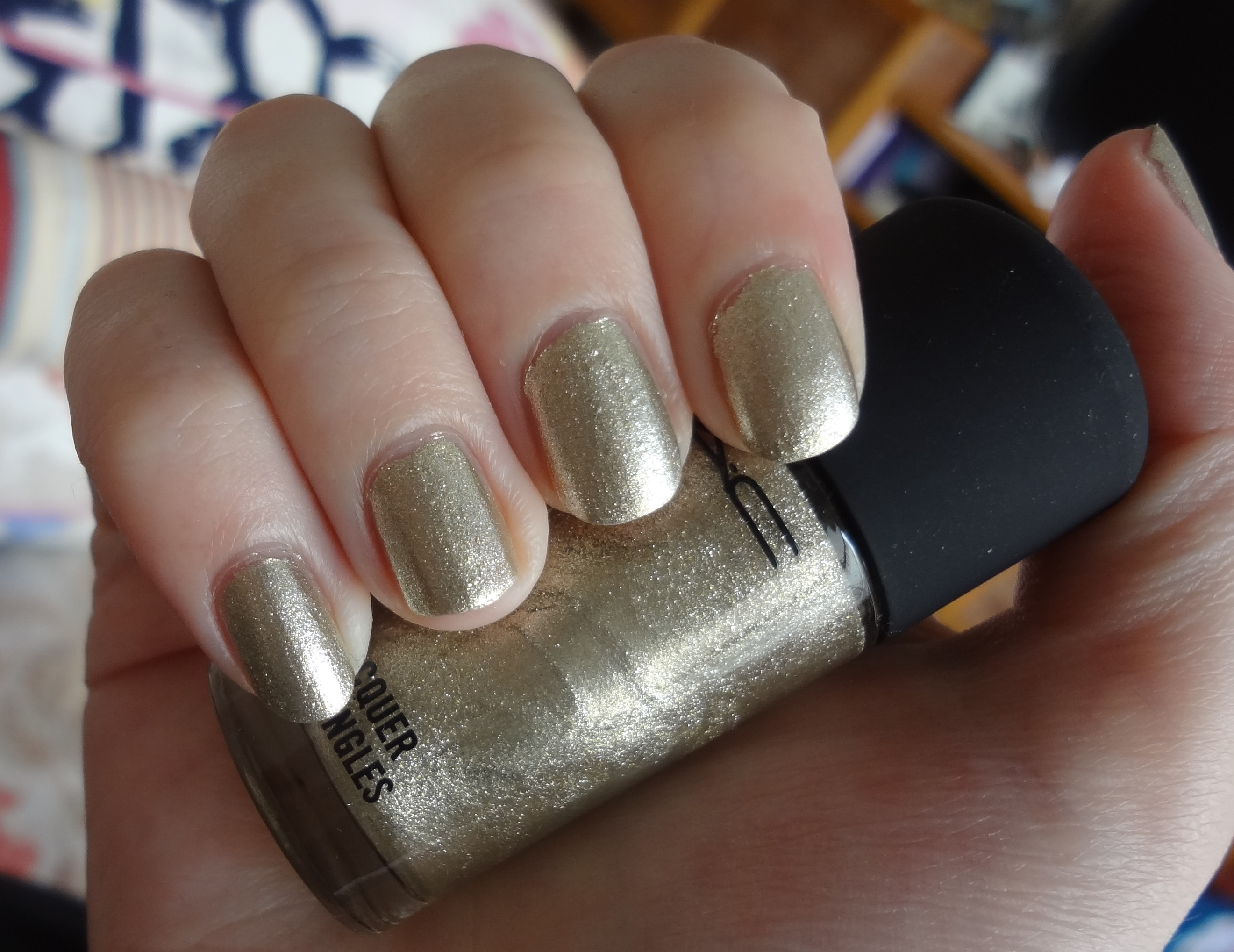 MAC Screaming Bright nail polish review | Through The Looking Glass