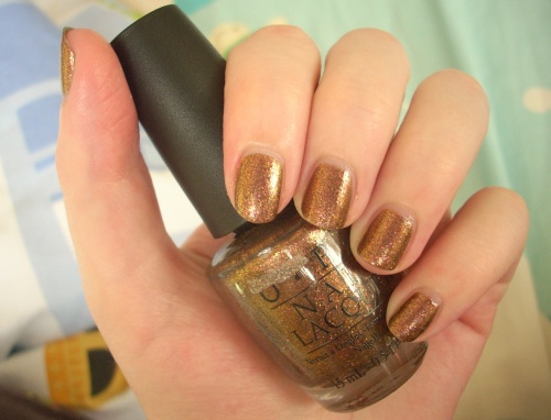 opi warm and fozzie swatch