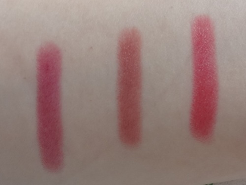 clinique chubby stick intense grandest grape broadest berry mightiest maraschino swatches