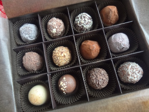 harbour city chocolate trail 2013 godiva truffles