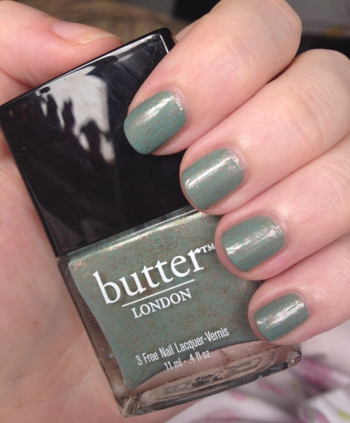 butter london two fingered salute nail polish