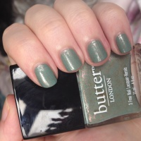 Butter London Two Fingered Salute nail polish review