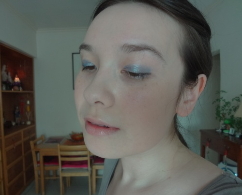 chanel stylo eyeshadow blue bay look