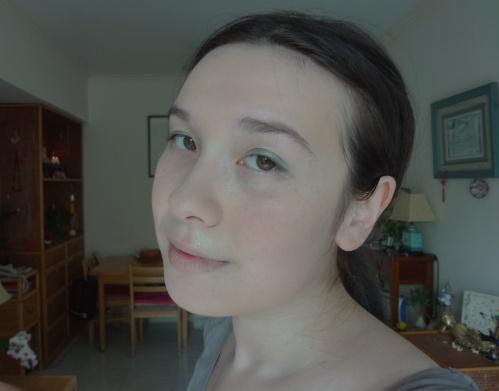 chanel stylo eyeshadow jade shore eotd