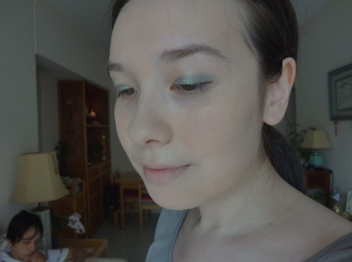 chanel stylo eyeshadow jade shore look
